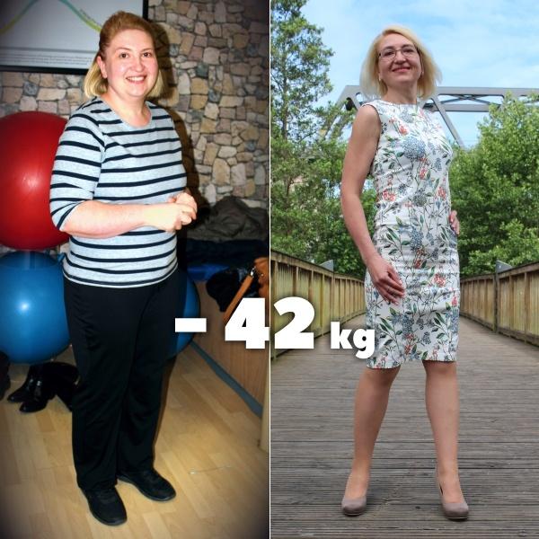 Elena Wisner похудела на 42 кг