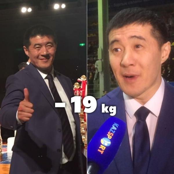 Рустем Султанбеков похудел на 19 кг