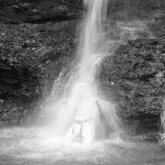 Wassili Geier. В водопаде на Митцумине.