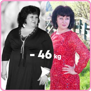 Евгения - история похудения, отзыв