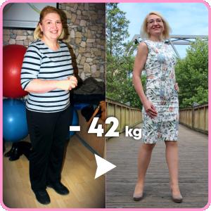 Елена - история похудения, отзыв