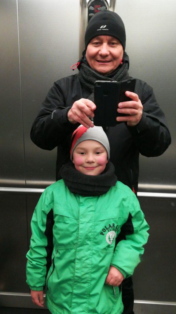 Wassili Geier с сыном