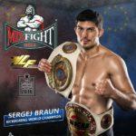 Ученик Sergej Braun 6-кратный Чемпион Мира